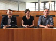 Cieltje Van Achter, Gilles Verstraeten en Mathias Vanden Borre