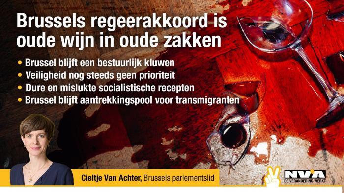 Brussels regeerakkoord is oude wijn in oude zakken